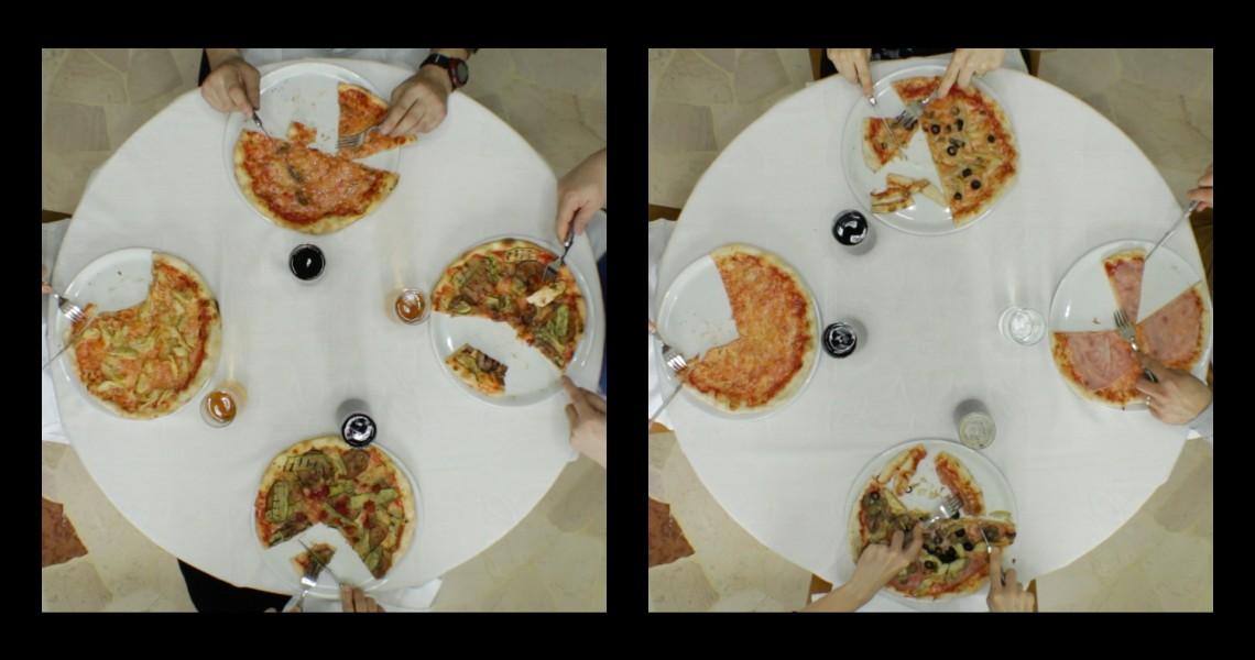 HOW ITALIANS EAT PIZZA