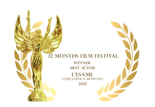 12 Months Film Festival 2017 - Best Actor