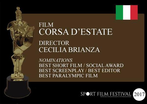 Sport Film Festival 2017 - Nomination Corsa d'estate