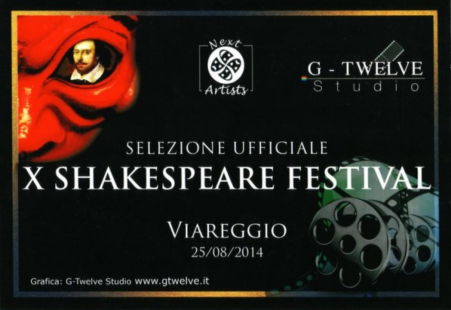 Shakespeare Festival 2014 - Selezione Ufficiale