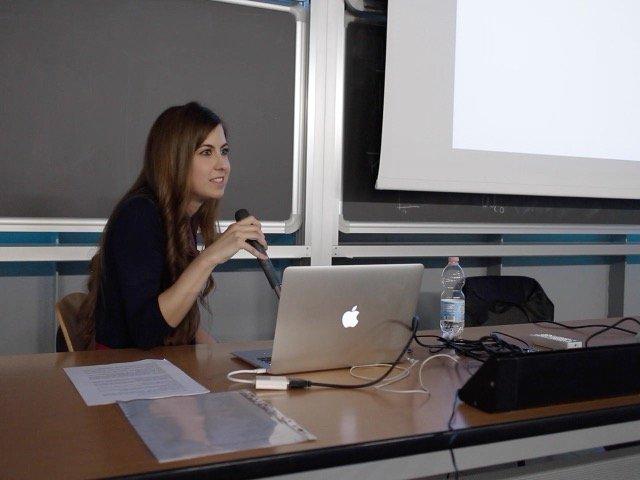 Lezione di Light Art e Design della Luce - Politecnico di Milano