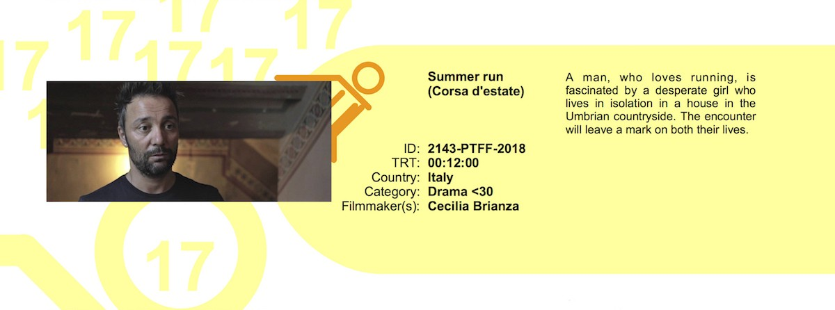 Picture this...film festival 2018 - Corsa d'estate