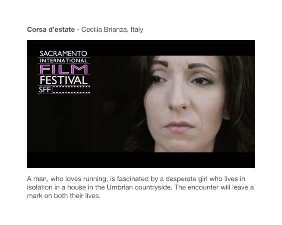 Sacramento International Film Festival 2019 - Corsa d'estate