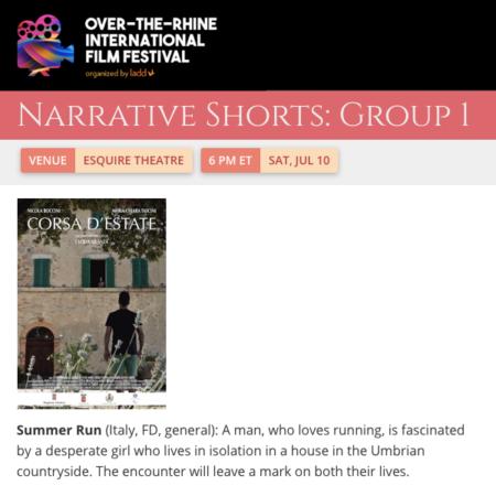 Over-the-Rhine International Film Festival 2021 - Corsa d'estate