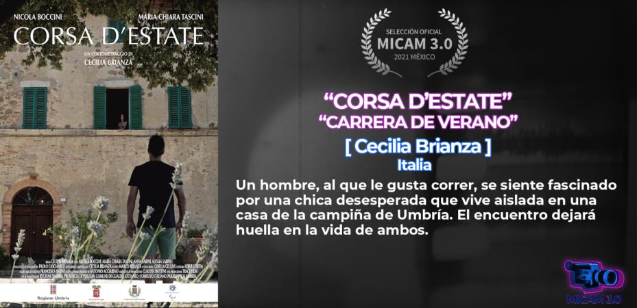 MICAM Film Fest 2021 - Corsa d'estate